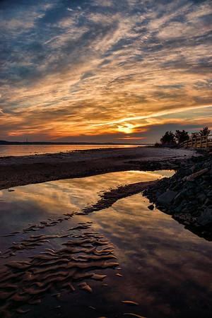 Tidal Sunset